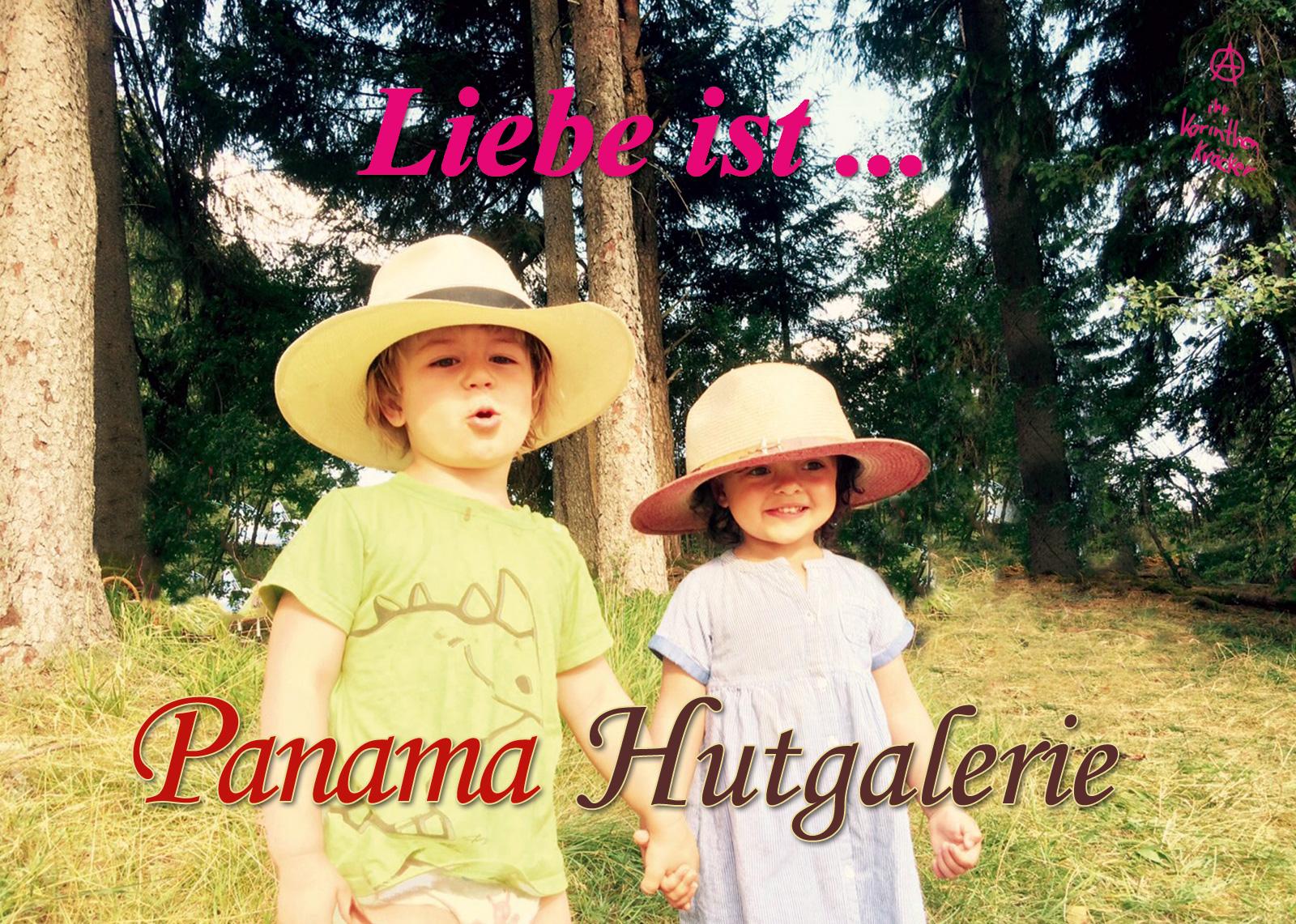 Liebe ist … Panama Hutgalerie