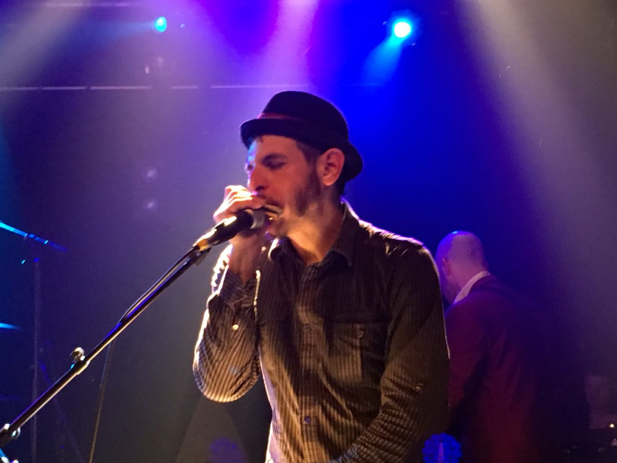 The Slackers – Vic Ruggiero live SO36 - Feine Hüte Berlin