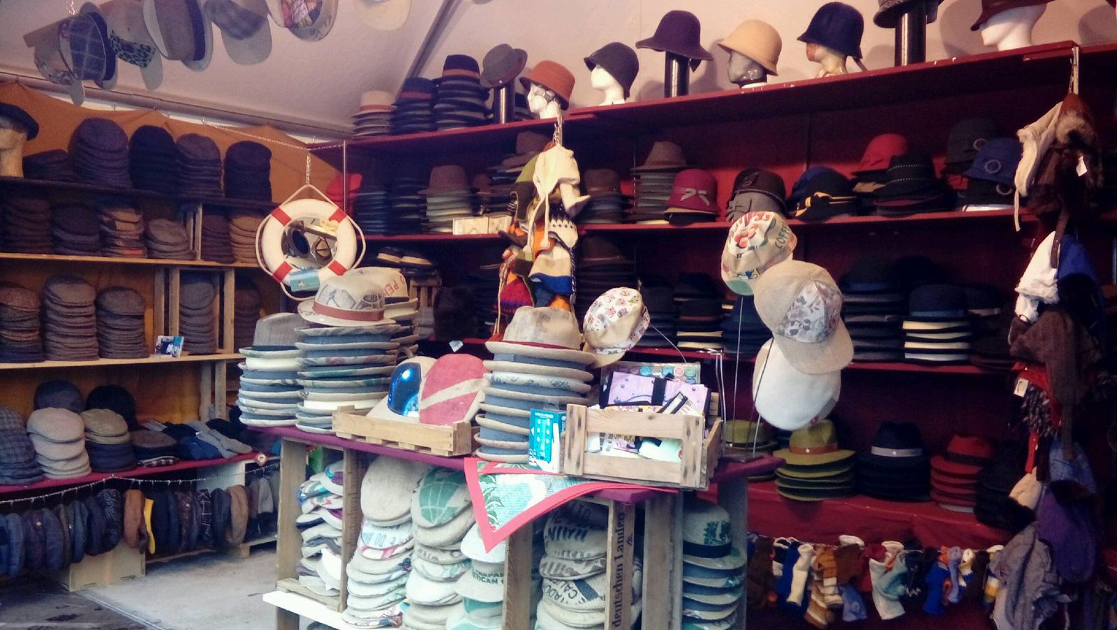 Panama Hutgalerie und Feine Hüte Berlin – Hafenweihnachtsmarkt Köln