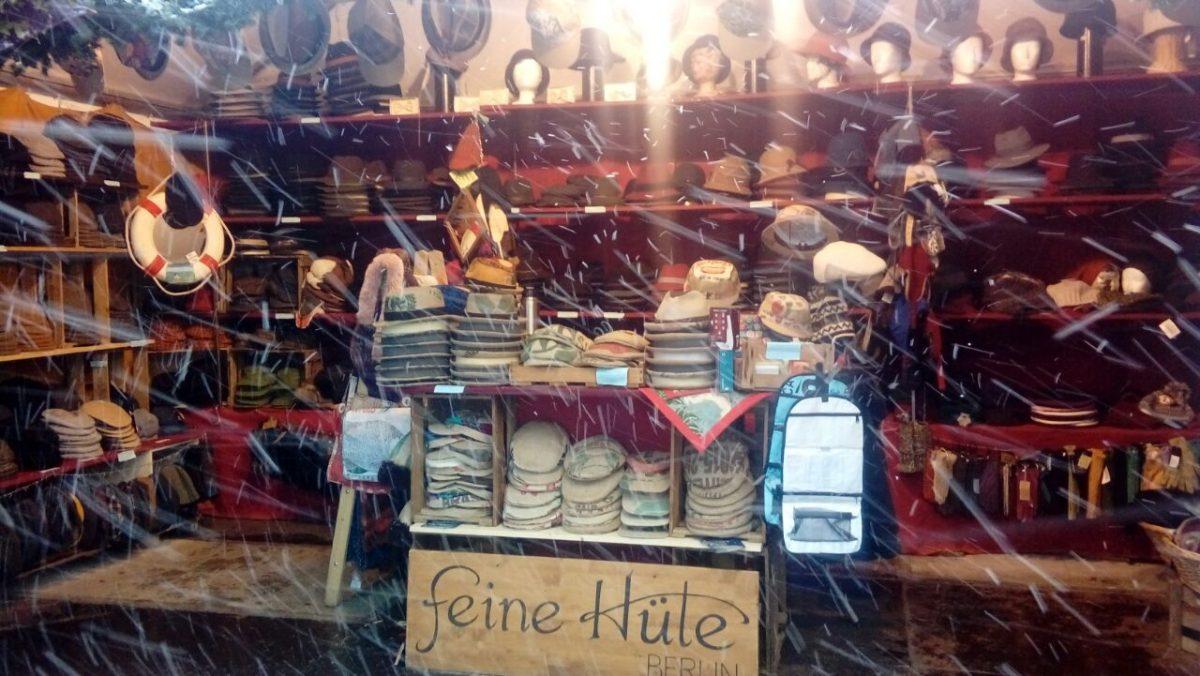 Panama Hutgalerie & Feine Hüte Berlin – Weihnachtsmarkt Kulturbrauerei