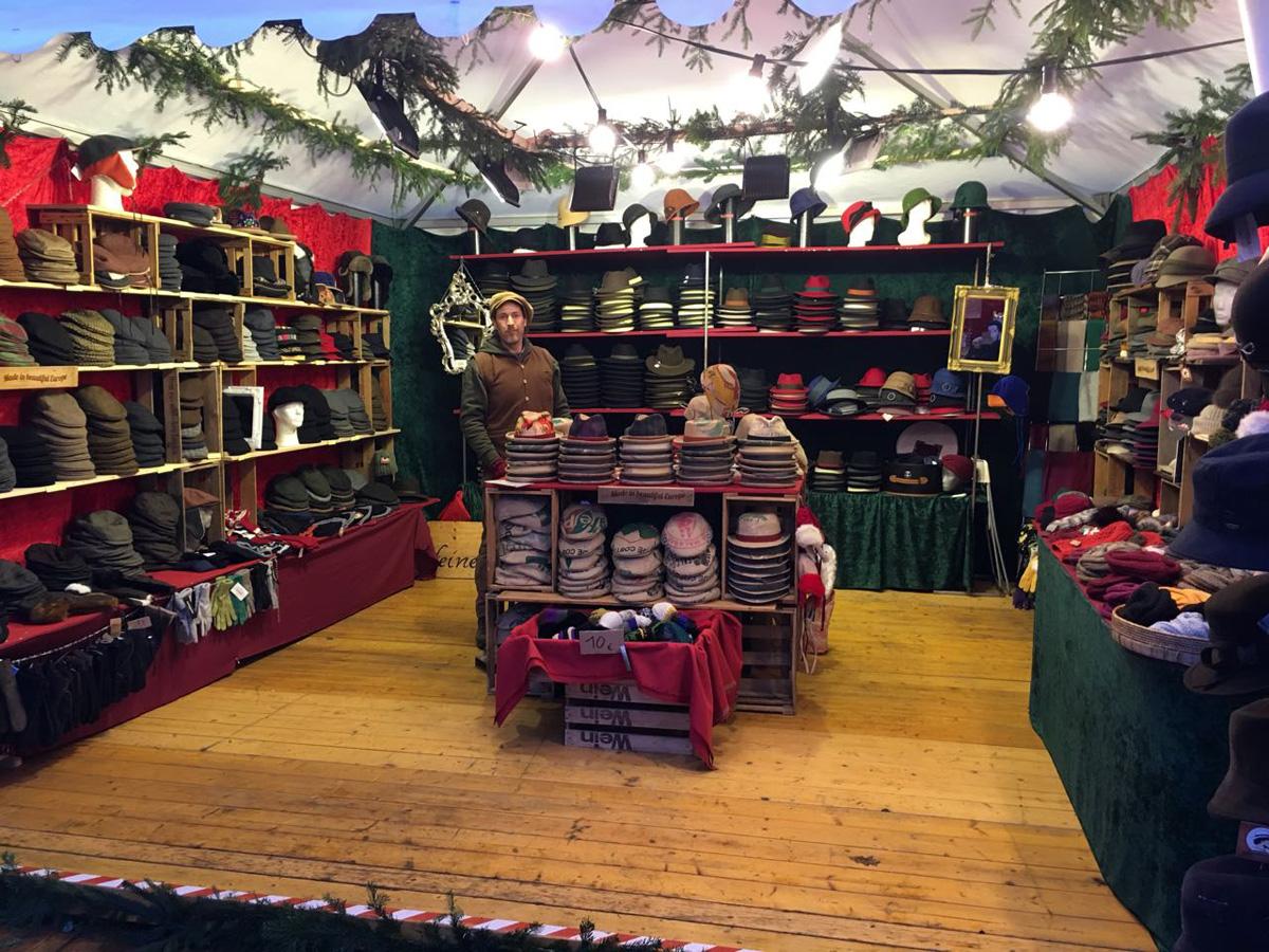 Panama Hutgalerie & Feine Hüte Berlin – Weihnachtsmarkt Rastatt